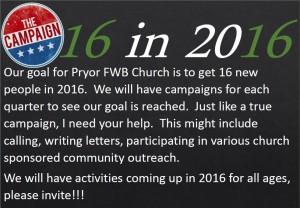 2016 16 Campaign