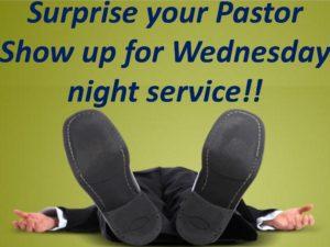 Surprise Pastor