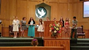 Teens Sing
